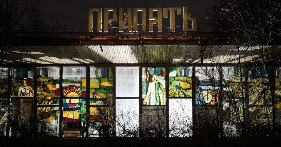 """6.ago.2015 - Imagem feita dentro de uma torre da usina nuclear em Chernobyl nunca finalizada, na Ucrânia. David De Rueda criou um projeto de fotografia chamado """"Abandoned Places"""" (locais abandonados, em tradução livre) disponível em sua página http://www.davidderueda.com/"""