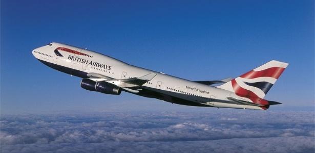Alibaba leiloará Boeing 747-400 como este, da British Airways