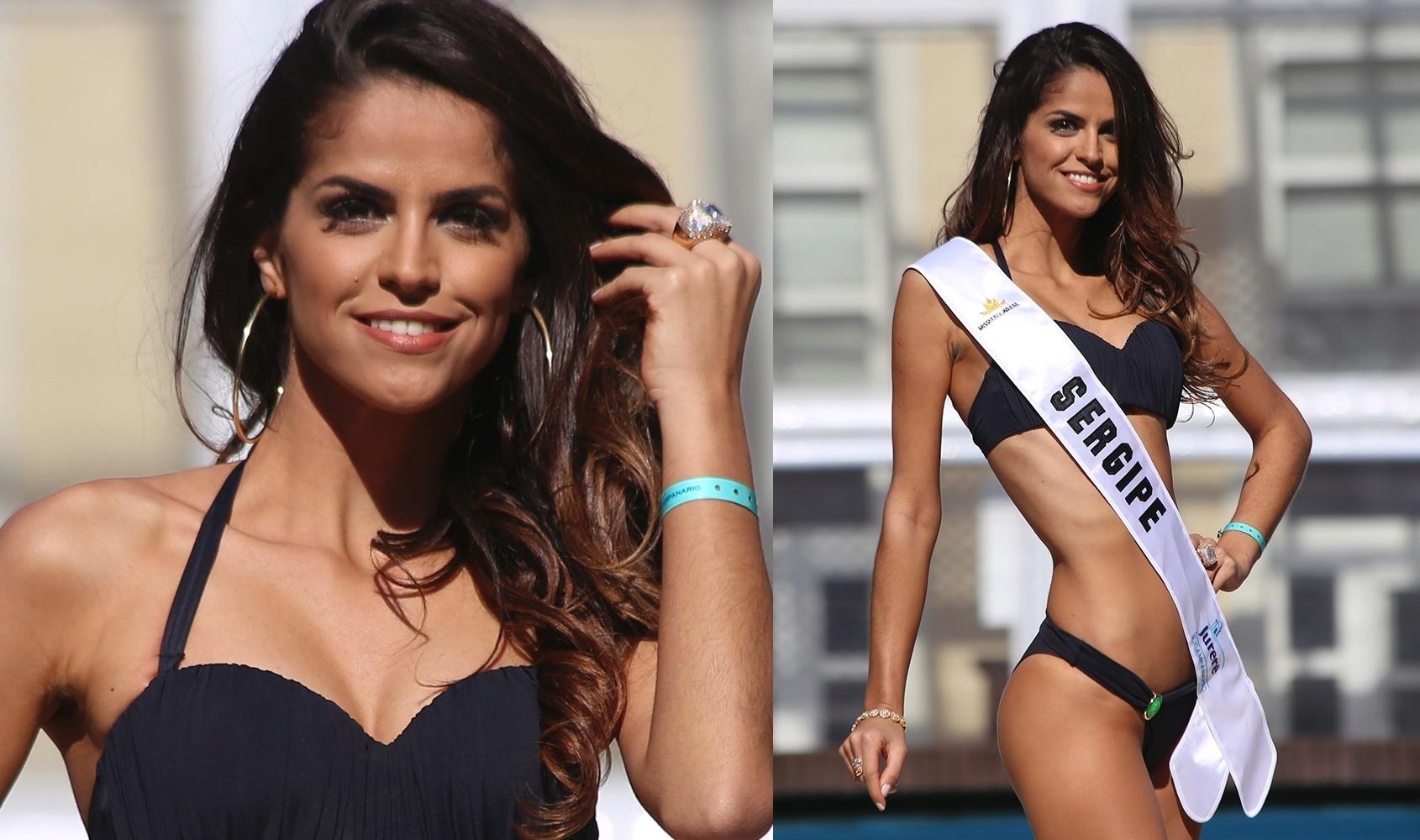 23.jun.2016 - SERGIPE - Katiúscia Oliveira Menezes, 25, modelo e assistente administrativa