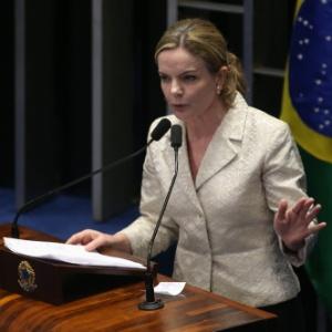 A senadora petista ainda acusou o Legislativo brasileiro de tortura emocional e de misoginia