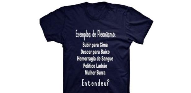 Camiseta vendida no site da Dafiti traz mensagem machista na estampa