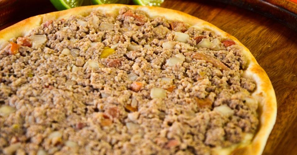 Esfihas de carne da Kalik Ligue-Esfiha