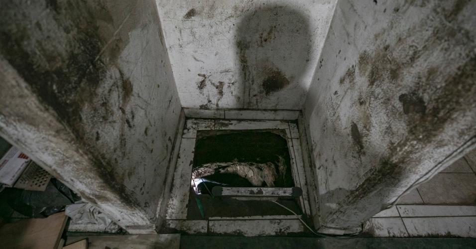 3.out.2017 - Através do túnel, eles pretendiam roubar R$ 1 bilhão, segundo a Polícia Civil. O roubo aconteceria em breve e foi evitado pelos agentes, que monitoravam as movimentações do bando havia dois meses