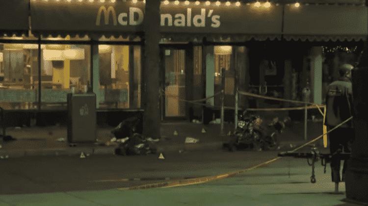 Polícia investiga disparos que deixaram 11 feridos nos Estados Unidos - Reprodução/Youtube