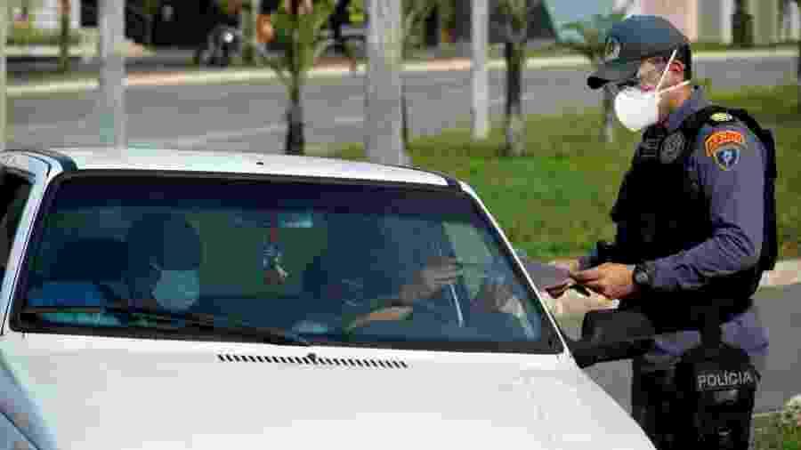 1º dia de lockdown em São Luís (MA) teve barreiras policiais e ruas fechadas - Governo do Maranhão