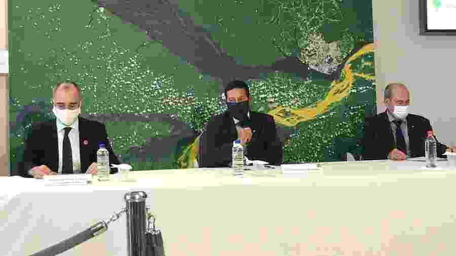 Vice-presidente, general Hamilton Mourão, comenta aplicação das Forças Armadas em operação na Amazônia - Rubens Valente/UOL