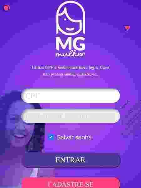 App de MG contra violência contra mulher - Reprodução - Reprodução