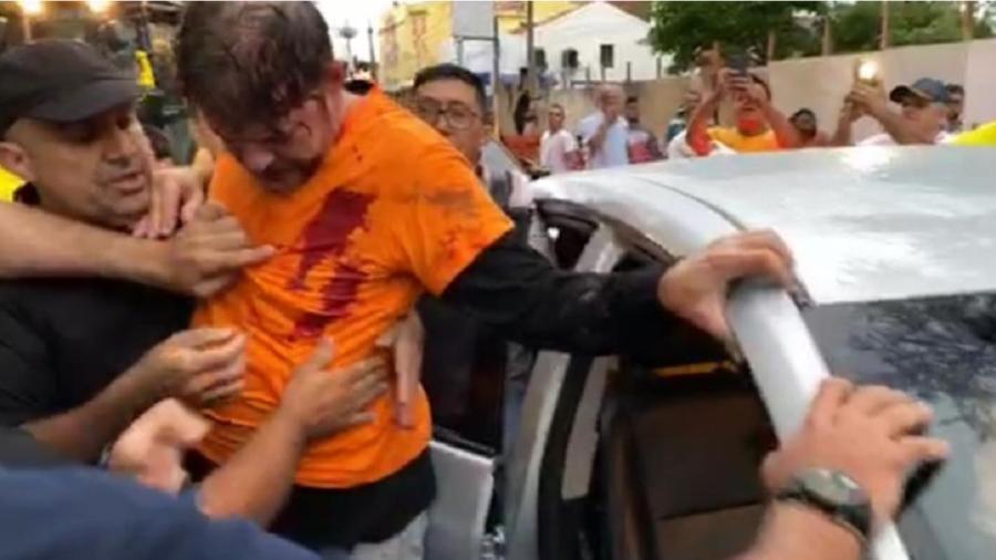 Cid Gomes foi ferido em motim de parte da PM do Ceará em 2020 - Reprodução/Facebook