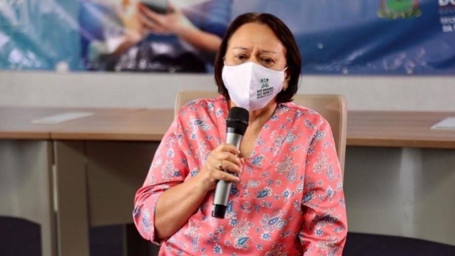 Fátima Bezerra (PT), governadora do Rio Grande do Norte - Reprodução/Instagram