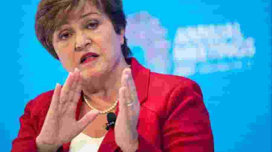 Diretora do FMI, Kristalina Georgieva; análise dos impactos da pandemia na economia está no relatório World Economic Outlook - Reuters/Guglielmo Mangiapane