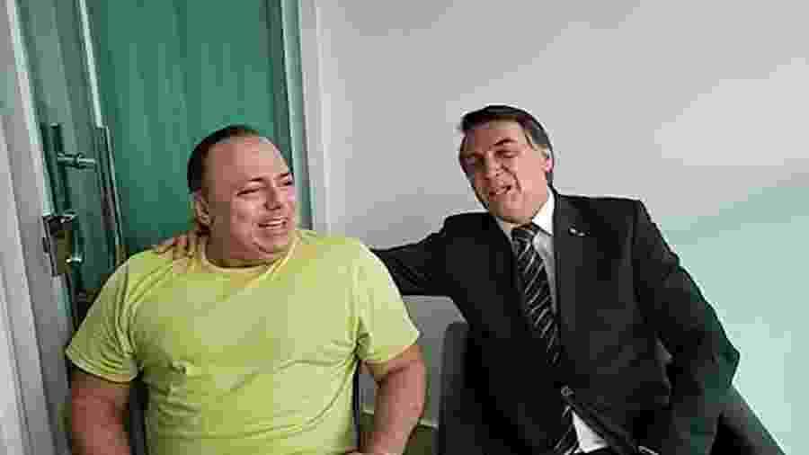 Jair Bolsonaro e o general Eduardo Pazuello - Reprodução/Youtube