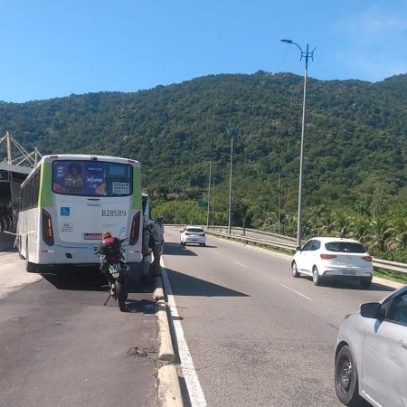 Acidente entre dois ônibus ocorreu na zona oeste do Rio de Janeiro - COR/Prefeitura/Divulgação