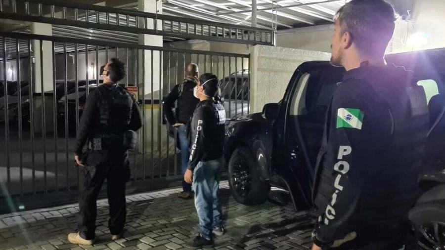 PCPR (Polícia Civil do Paraná) em operação  - Divulgação/PCPR