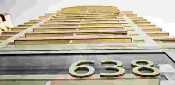 Fachada do edifício Solaris, no Guarujá - Eduardo Knapp/Folhapress