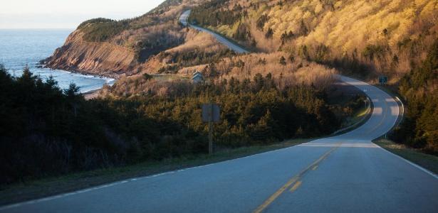 Cape Breton, na província litorânea de Nova Escócia, no extremo oriente do Canadá