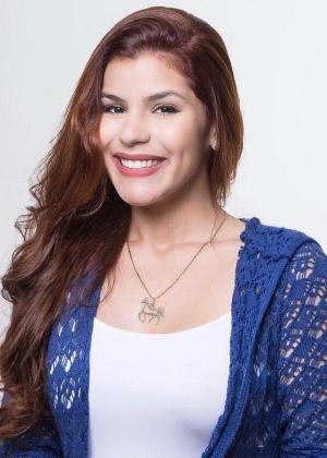 A advogada Rhanna Cristina Umbelino Diógenes, 24, que foi agredida em 2011 e teve o braço quebrado após recusar um beijo