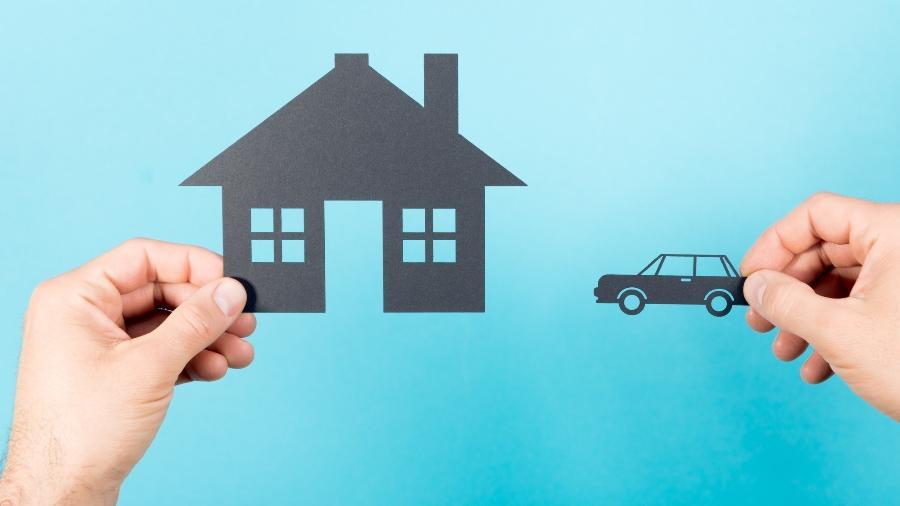 Cobrança de impostos sobre patrimônio (IPTU e IPVA) tende a consumir uma fatia maior da renda de famílias mais pobres  - Getty Images/iStockphoto