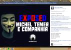 Hackers tiram do ar página pessoal de Temer (Foto: Reprodução)