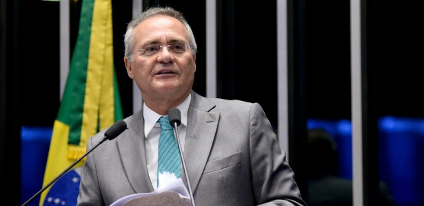 Renan Calheiros (AL) renunciou à liderança do PMDB no Senado