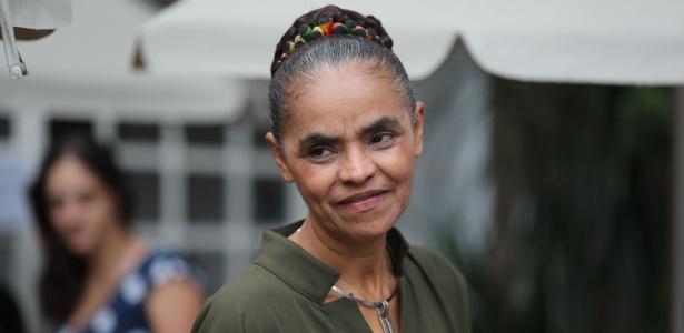 23.mar.2018 - Pré-candidatada à Presidência pela Rede, Marina Silva participa de evento em SP