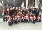 O caneco é nosso! Jovens brasileiros ganham prêmio de robótica nos EUA  (Foto: Divulgação/Facebook Robonáticos #7565)