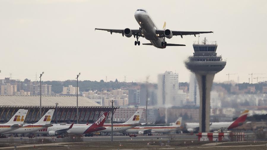 Aeroporto de Barajas, em Madri (Espanha) - Paul Hanna/Reuters