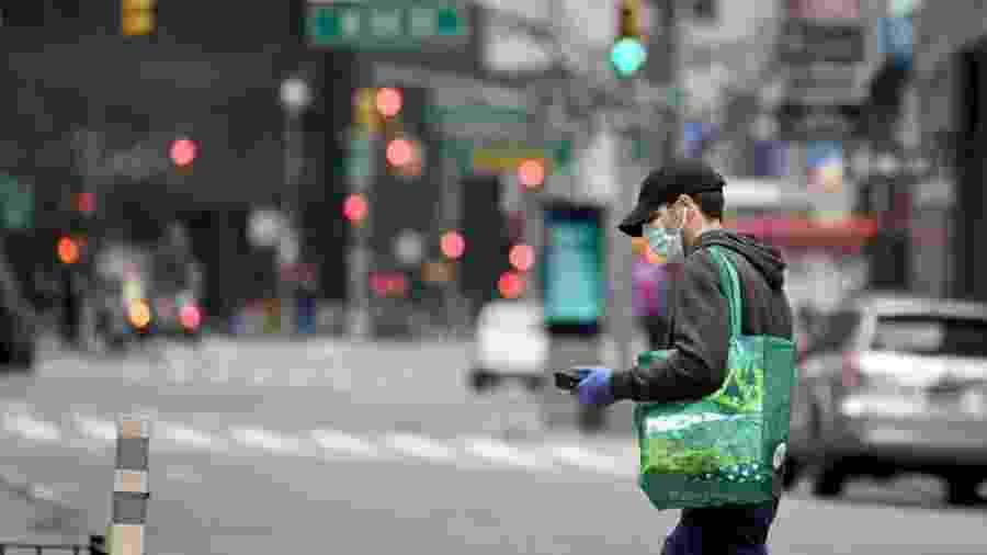 EUA registram mais de 430 mil casos de coronavírus. Números cresceram após testes em massa - Alexi Rosenfeld/Getty Images