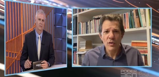 Em entrevista no SBT | Haddad diz que Bolsonaro é um 'candidato a ditadura'
