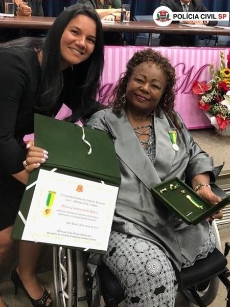 Aprovada em concurso em 1982, Maria Clementina de Souza se aposentou em 2019 - Polícia Civil de SP/Divulgação