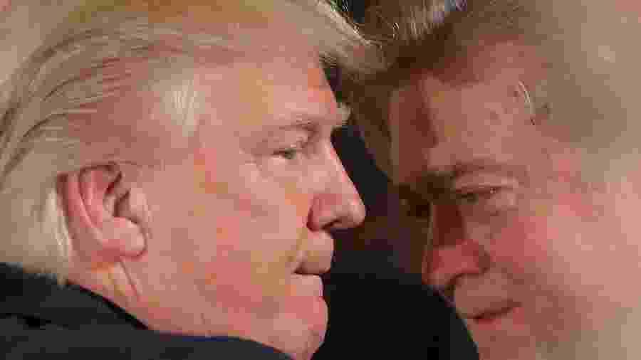 "Julgamento de Steve Bannon por fraude envolvendo muro está marcado para maio. Ele foi ""guru"" da campanha vitoriosa do republicano - Carlos Barria"