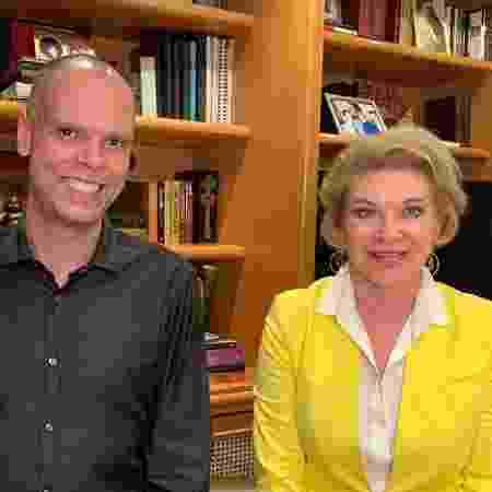 O prefeito de São Paulo, Bruno Covas (PSDB), e a ex-prefeita Marta Suplicy - Divulgação/Campanha Bruno Covas