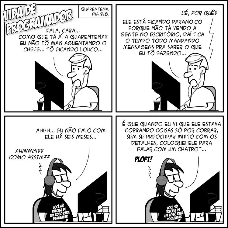 Tirinha Vida de Programador - Vida de Programador - Vida de Programador