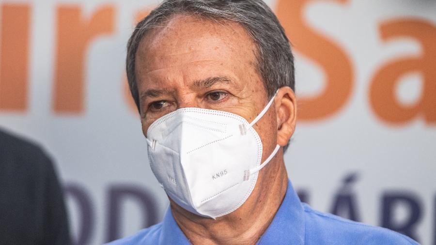 Edson Aparecido pediu que a população da capital não escolha a vacina no momento em que iniciar o processo de imunização contra a covid-19 - YURI MURAKAMI/FOTOARENA/FOTOARENA/ESTADÃO CONTEÚDO