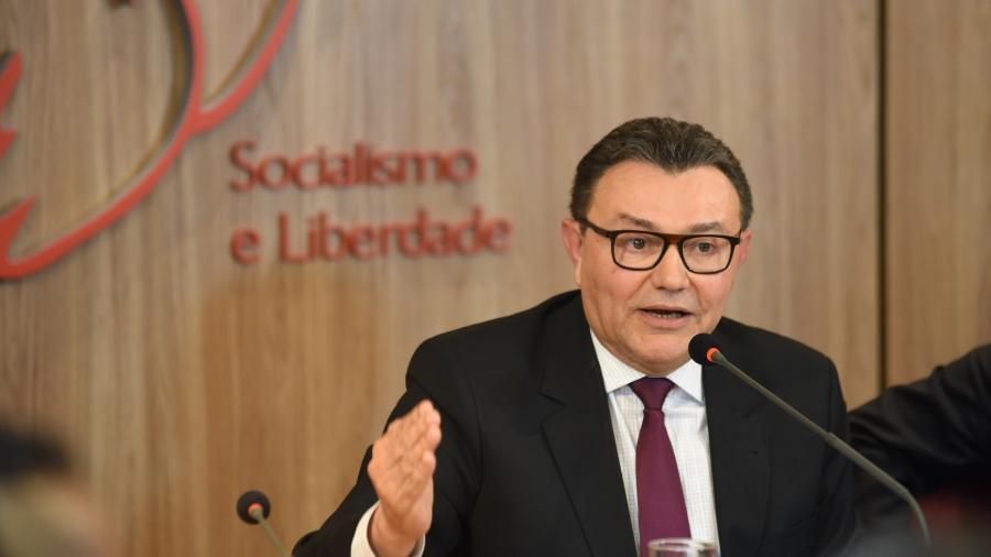 Presidente nacional do PSB, Carlos Siqueira, diz que fusão com PCdoB não está entre opções do partido - Humberto Pradera: Divulgação