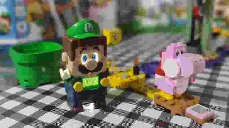 Luigi e Yoshi rosa - Claudio Prandoni - Claudio Prandoni