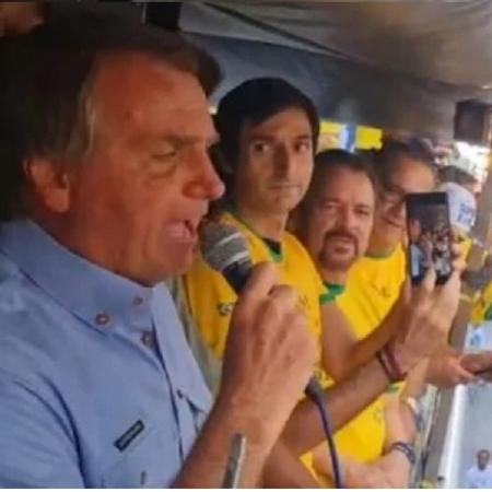 Bolsonaro discursa em SP - Reprodução