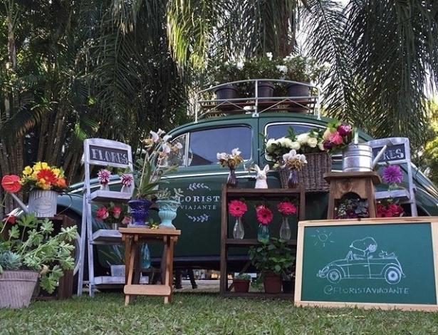 Florista viajante