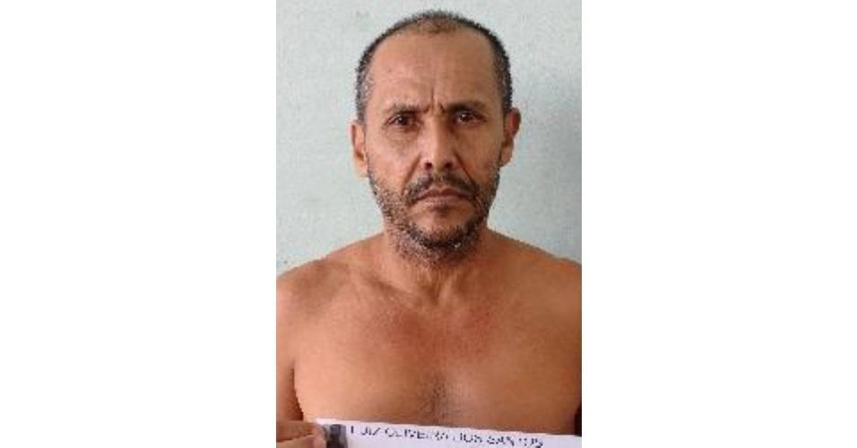 Luiz Oliveira dos Santos; crime: tráfico e homicídio