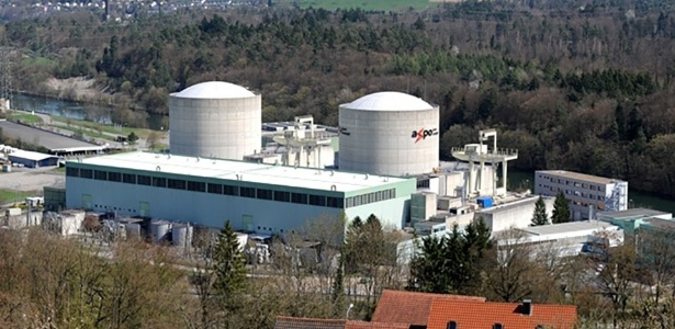 A usina nuclear suíça de Beznau