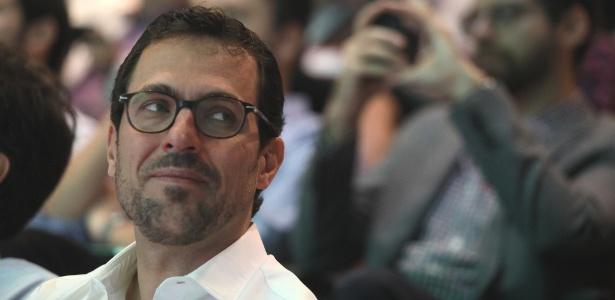 O empresário Eduardo Mufarej durante apresentação do Renova Brasil