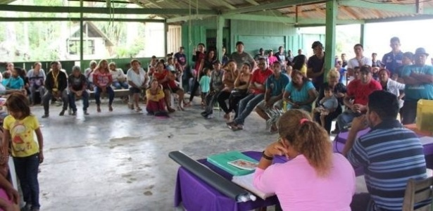 31.dez.2017 - Índios e ribeirinhos forjam aliança para 'autodemarcar' terras usando GPS