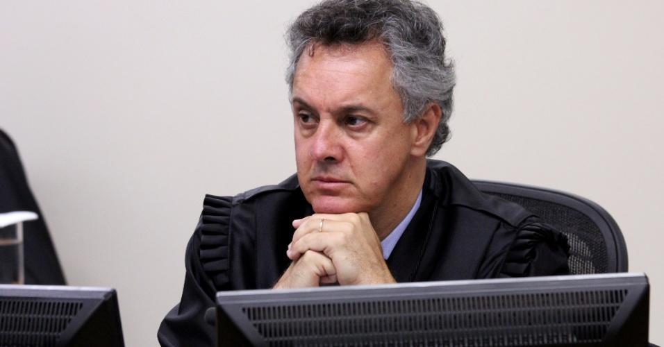 Desembargador João Pedro Gebran Neto no julgamento de recursos da Lava Jato na 8ª Turma do TRF4; em Porto Alegre, desembargadores julgam o ex-presidente Lula