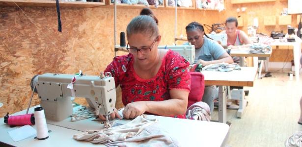 Joaquina Brasil costureiras