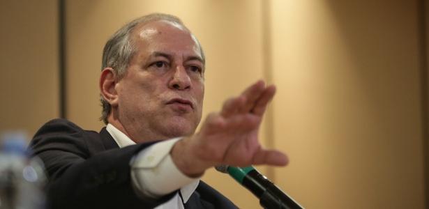 O pré-candidato do PDT à Presidência, Ciro Gomes