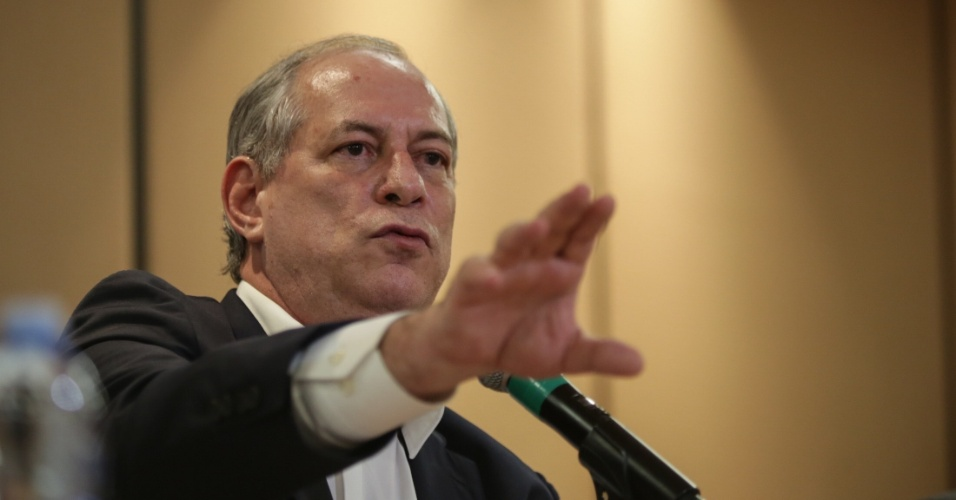 Mais eleições | Ciro diz que trabalha com 'charme' para ter 250 deputados na base