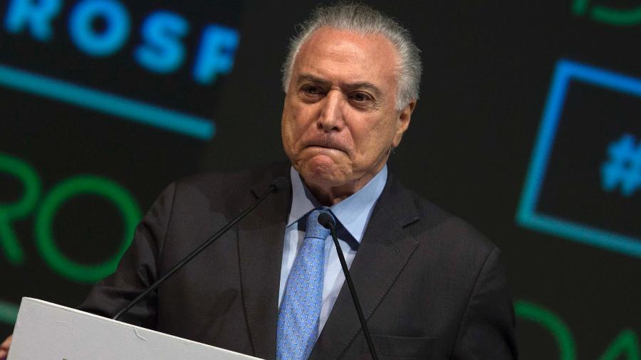O ex-presidente Michel Temer (MDB) foi preso na manhã de hoje em São Paulo - Paulo Lopes/Futura Press/Estadão Conteúdo