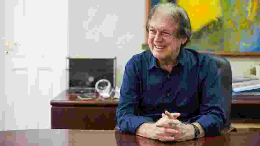 O presidente do PSL, Luciano Bivar - Clara Gouvêa/UOL