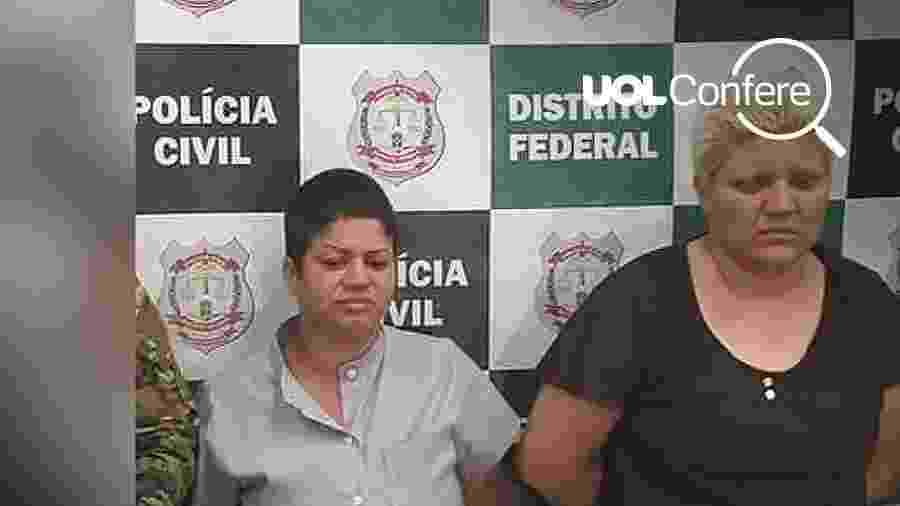 Arte UOL sobre foto de Divulgação/Polícia Civil