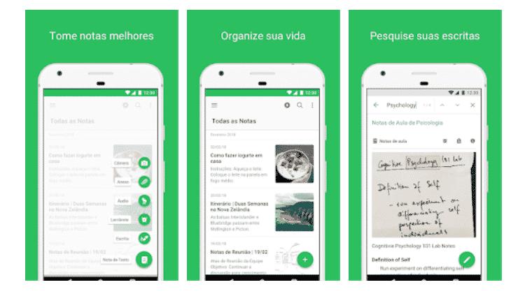 Evernote: Aplicativos para produtores de eventos - Reprodução - Reprodução