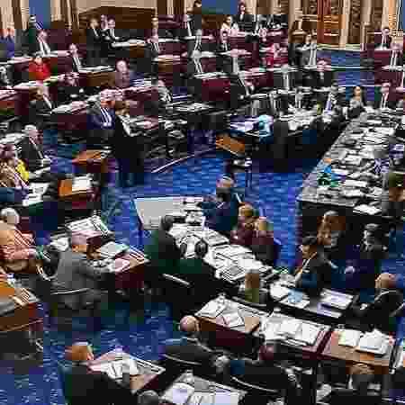 Plenário do Senado dos EUA - Handout .